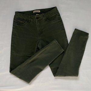 3/20$ BlueSpice Army Green Skinny Pants